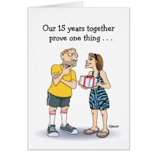 15th anniversary gifts on zazzle