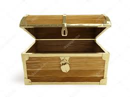 wooden trunk old wooden chest open u2014 stock photo 3dfoto 15468837