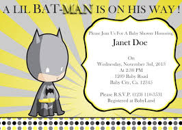 batman baby shower invitations reduxsquad com
