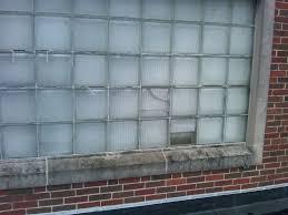glass block replacement church gym windows glass block