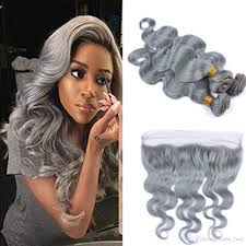 can ypu safely bodywave grey hair 2018 fashion color silver grey body wave human virgin hair lace