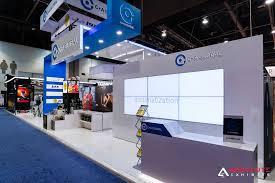 Global Reception Desk Client Spotlight C A Global At Ces 2017 Showtime Trade Show Blog