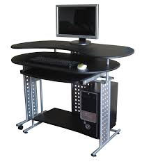perfect black gaming computer desk plans woodworking ideas r on