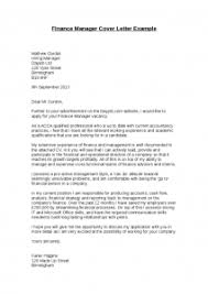 100 finance manager application letter debt collection