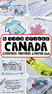 33 best canadian geography images on pinterest teaching social