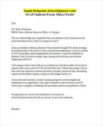 41 acknowledgement letter examples u0026 samples