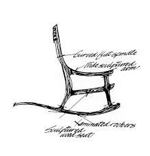 38 sam maloof exceptional rocking chair u003c design masterworks