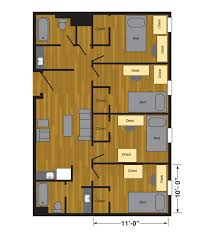 floor planning two flat remade the idolza murray hall halls housing ttu floor layout awesome beds design plan