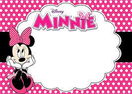minnie mouse invitations printable minnie mouse invitations birthday party invitation card