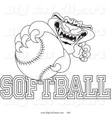 printable softball sport coloring pages for kids coloringbooks7 com