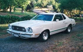 1977 ford mustang polar white 1977 ford mustang ii coupe mustangattitude com photo