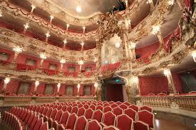siege baroque théatre de l opéra baroque photo stock éditorial image du siège