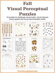 Visual Discrimination Worksheets Visual Perceptual Worksheets Worksheets For Dropwin