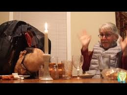 thanksgiving prank dinner table decapitation ideas for the