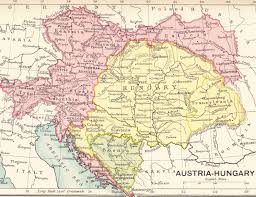 Map Austria Old Austria Hungary Map