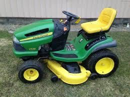 john deere la125 lawn tractor john deere 100 series lawn