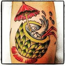 tropical drink cocktail tattoo cocktail tattoos pinterest