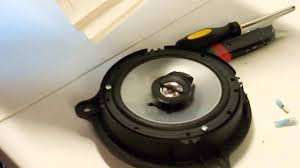 nissan frontier subwoofer box 6 the one where i upgrade the door speakers youtube