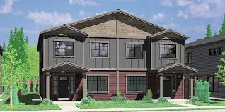 home plans for narrow lot narrow lot duplex house plans narrow and zero lot line