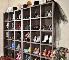 Shoe Home Decor Interior Two Mudroom Shoe Storages Side By Side In The Corner