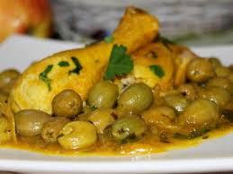 cuisine marocaine poulet aux olives poulet aux olives recettes de volailles cuisine marocaine le