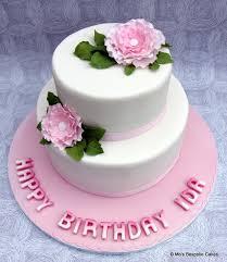 cakes for birthdays pink 40th birthday cake personalised cakes for birthdays