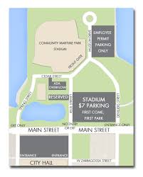 Pensacola Florida Map by Parking Opportunities Non Profits City Of Pensacola Florida