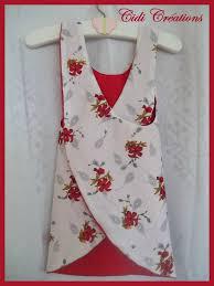 tuto tablier de cuisine enfant tags couture facile mode enfant mode fillette tablier croisé
