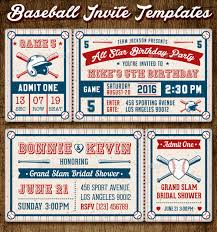 sports ticket invitation template free free printable football