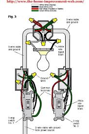 how do i wire a celing lighit to work from 2 seperat swiches