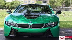 Bmw I8 Design - bmw i8 gloss envy green wrap