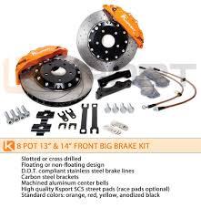 lexus is300 brake kit ksport 356mm procomp 8 piston front big brake kit mazda mx 5
