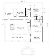 single story house plan single story house plans with porches one story house plans with