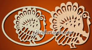 scroll saw patterns holidays thanksgiving