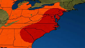 Washington Dc Weather Map by Severe Storms And Heavy Rain Threat Target The East Sunday The