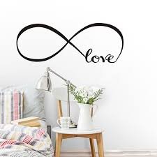 que signifie chambre infini symbole avec amour signifie endless wall sticker décor