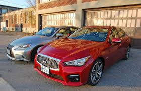 car comparison infiniti q50 awd hybrid sport vs lexus is 350 awd