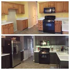 painting kitchen cabinets white without sanding kitchen cabinet painted kitchens before and after used kitchen