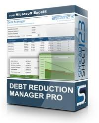 Excel Debt Payoff Template Free Debt Reduction Manager For Excel