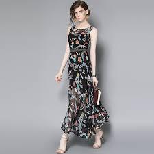 online shop l g spring summer designer womans dresses black ankle