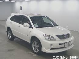 toyota lexus harrier 1998 2008 toyota harrier white for sale stock no 39084 japanese