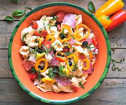 Pasta Salad Recipes With Italian Dressing Italian Pasta Salad Recipe From A Gouda Life