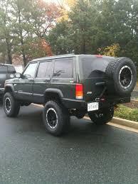 jeep cherokee rear bumper nates 4x4 rear bumper tire swingout jeep cherokee forum