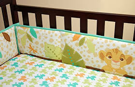 Lion King Crib Bedding Amazon Com Disney Nemo Crib Traditional Padded Bumper Baby