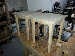 How To Make End Tables Wooden by How To Build A End Table Outdoor Patio Tables Ideas