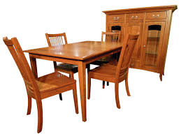 Small Shaker Leg Dining Room Set Amish Furniture Gallery - Shaker dining room chairs
