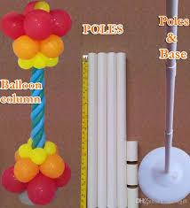 wedding decorations balloon column base plastic poles
