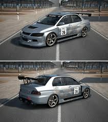 mitsubishi evo gsr mitsubishi lancer evolution ix gsr touring car u002705 by gt6 garage