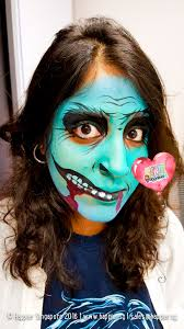 halloween blue monster face painting singapore jpg