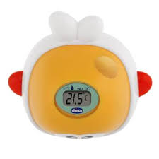 thermometre de chambre chicco thermomètre bain chambre baleine digital orange achat